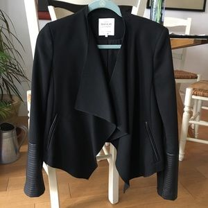 BNWOT - Zara - Blazer with Leather Detail